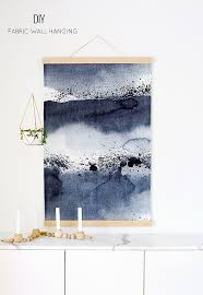 diy wall hanging the fabric is prebought the tutorial is for