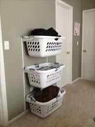 Utility Room Organization Best 25 Laundry Basket Organization Ideas On Pinterest Rustic