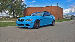 Bmw M3 Colour Bmw M3 Light Blue Car Wraps Mississauga Pinterest Bmw M3