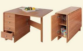 Diy Folding Computer Desk 30 Space Saving Folding Table Design Ideas For Functional Small Rooms
