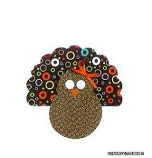 thanksgiving turkey fabric iron on appliques by