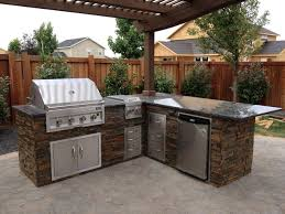 copper basin outdoor kitchen traditional patio boise by