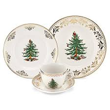spode tree gold 4 place setting
