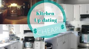 how to fit a kitchen cheaply how i remodeled my kitchen for 1 000 2017 cheap kitchen updating