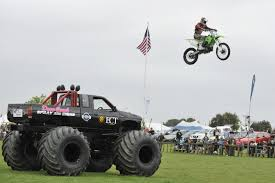 monster truck shows ontario motorcycle stunts and the kiwi thunder monster truck poverty bay