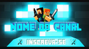 Common Banner/Capa para canal do youtube - Minecraft download grátis  @MS87
