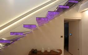 led treppe treppen mit led sillertreppen