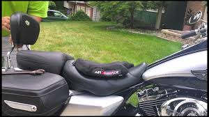 Most Comfortable Motorcycle Seat Airhawk R Motorcycle Pad Seat Install On A 2003 Harley Davidson