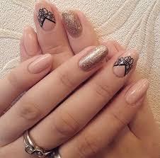 35 nail designs for winter winter nail art black nail polish