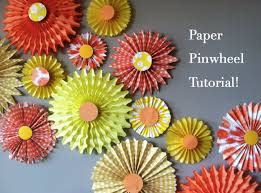 how to make paper pinwheels the easy way paper pinwheels