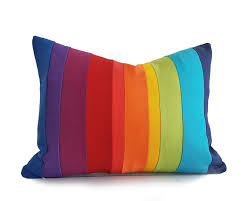 colorful sofa pillows rainbow pillow cover colorful striped throw pillows color