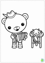 octonauts coloring coloring