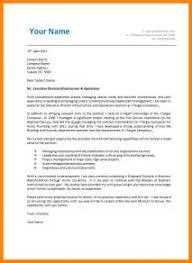 example cover letter addressing selection criteria example good
