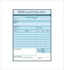 dental receipt template 14 free sample example format