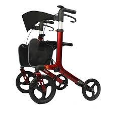 senior walkers with wheels buy all terrain aluminum rollator walker with wheels all terrain