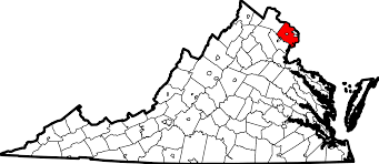 Maps Of Virginia by File Map Of Virginia Highlighting Fairfax County Svg Wikimedia