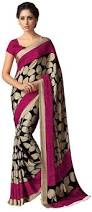 Buy Violet Embroidered Art Silk Buy Styloce Printed Art Silk Saree Online Best Prices In India