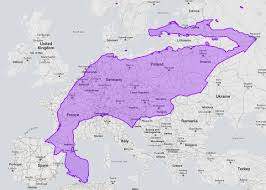 Map Of Tijuana Mexico by Mexico Over Europe X Post From R Mexico 1166x834 Mapporn