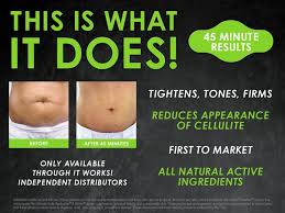 that wrap thing you tried that wrap thing the it works wrap