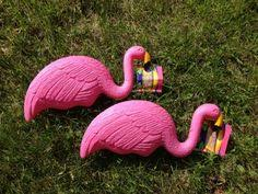 where to buy authentic pink flamingo lawn ornaments designed by