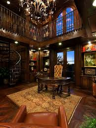 Best Library  Office Images On Pinterest Office Ideas Home - Home office library design ideas
