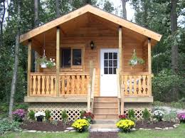 manufactured cabins prices discount log home packages front exterior hunting cabin plans free