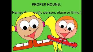 common nouns and proper nouns youtube