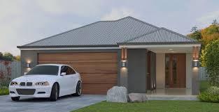 new australian 4 bedroom narrow lot house plans garage on zero