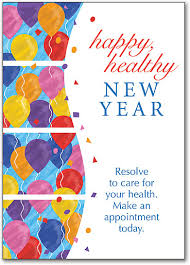 new year post card new year s themed cards smartpractice chiropractic