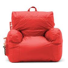 Big Joe Dorm Bean Bag Chair Amazon Com Big Joe Dorm Chair Flaming Red Kitchen U0026 Dining