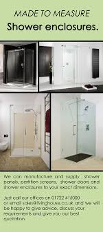 Shower Doors Made To Measure Made To Measure Room And Walk In Shower Enclosures