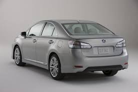 lexus hybrid hs250h recall 2012 lexus hs 250h information and photos zombiedrive
