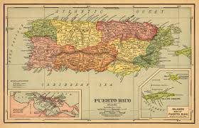 Map Of Us And Puerto Rico by Puerto Rico