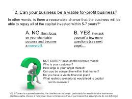 how to decide non profit vs for profit