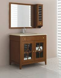 Bathroom Cabinets Wood Mesmerizing Wood Bathroom Cabinets In Best References Home Decor