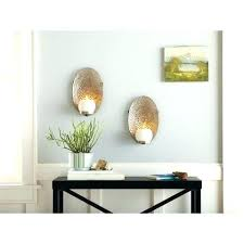 Sconce Mirror Mirror Candle Sconce Set Round Mirror Candle Holder Mirrored