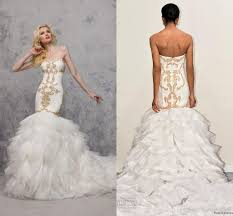gold wedding gown white and gold wedding gown best seller dress and gown review
