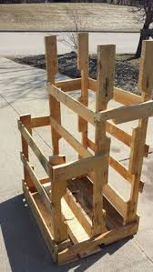 Making Wooden Shelves For A Garage by Diy Pallet Wood Storage Rack Wood Storage Pallet Wood And Pallets