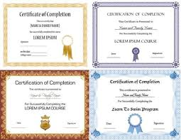 certificate free vector download 817 free vector for commercial