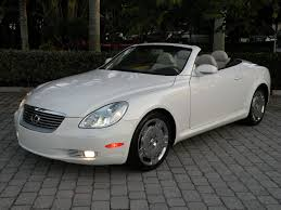 lexus sc300 leather seats 2004 lexus sc430 convertible for sale auto haus of fort myers