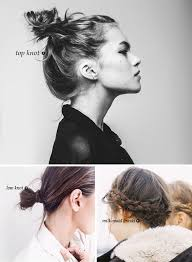 6 ways to style your hair when you have no time hair style
