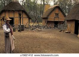 stock photo of jamestown virginia colonial national historical