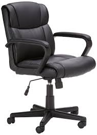 Office Chairs Price Amazon Com Amazonbasics Mid Back Office Chair Kitchen U0026 Dining