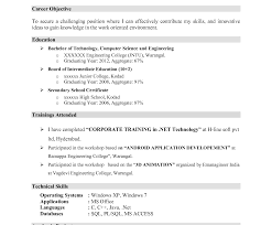 mca resume format for freshers pdf student freshere sle 791x1024 mca format fascinating