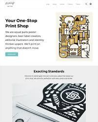 art theme startup ecommerce website template