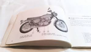 motorcycle honda cb 750 cb750 owner s manual 3 fold out wiring