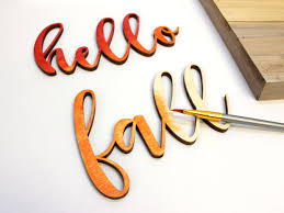 Craftcuts by Hello Fall Sign Reclaimed Wood Fall Sign How To Craftcuts Com