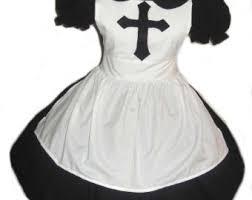 White Halloween Costume Witch Halloween Costume Cute Witch Orange Dress Black Cat