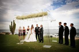 wedding ceremony canopy luxury cabo wedding ceremony living floral design