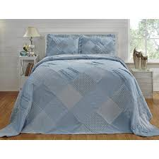 Ruffled Comforter Chenille Ruffled Bedspread By Better Trends Free Shipping Today